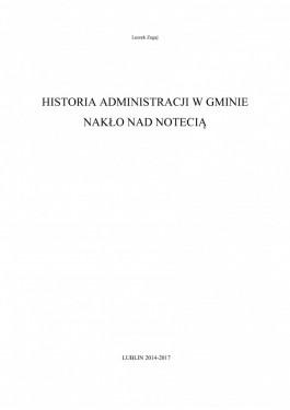 Publikacja Historia administracji w Gminie Naklo nad Notecia strona 1