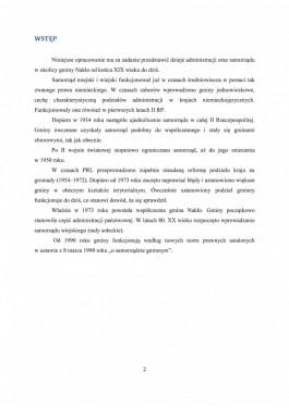 Publikacja Historia administracji w Gminie Naklo nad Notecia strona 2